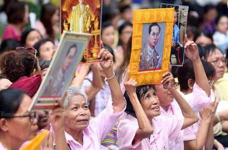 Hang nghin dan do ve Bangkok cau nguyen cho vua Thai Lan - Anh 7