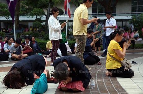Hang nghin dan do ve Bangkok cau nguyen cho vua Thai Lan - Anh 8