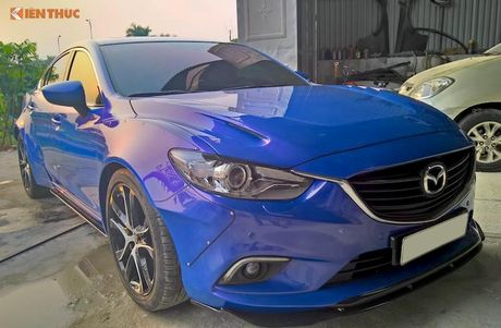 Sedan Mazda 6 do widebody 'doc nhat' Viet Nam - Anh 2