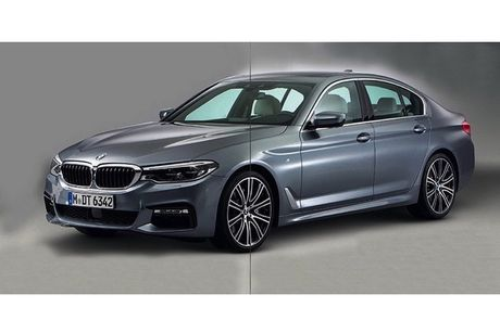 BMW 5 Series 2017 lo hinh 'khong che' truoc gio G - Anh 1