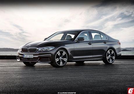 BMW 5 Series 2017 lo hinh 'khong che' truoc gio G - Anh 5