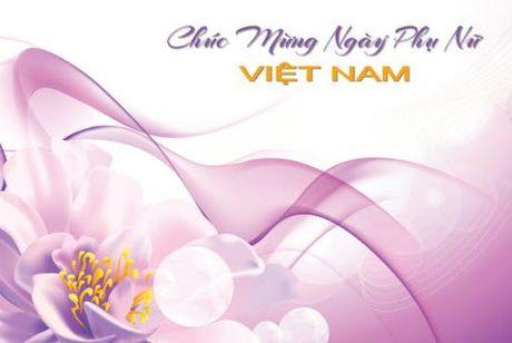 Tin nhan 20/10: Nhung loi chuc hay ngay Phu nu Viet Nam 20/10 - Anh 1