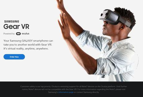 Oculus ngung ho tro trai nghiem thuc te ao tren Galaxy Note7 - Anh 1