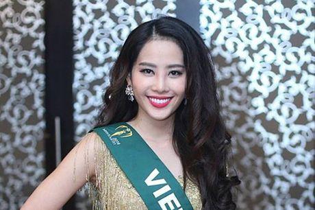 "Nhung hinh anh cuc ""nong"" cua Nguyen Thi Le Nam Em tai Hoa hau Trai dat 2016 - Anh 1"