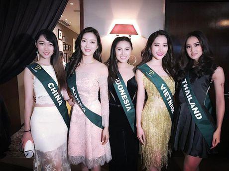 "Nhung hinh anh cuc ""nong"" cua Nguyen Thi Le Nam Em tai Hoa hau Trai dat 2016 - Anh 3"