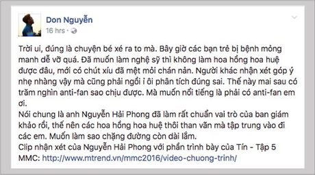 Thi sinh MMC trach nhac si Nguyen Hai Phong ap dat - Anh 4