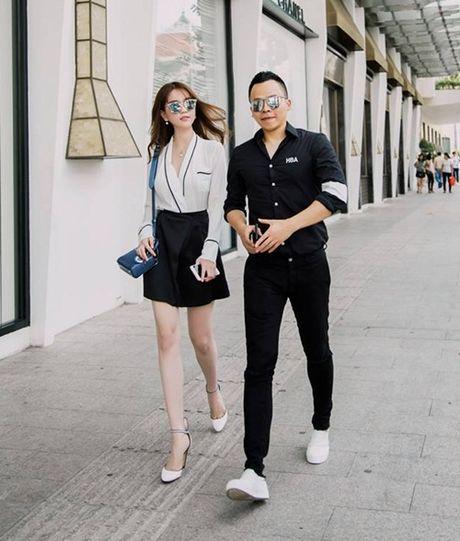 Ngoc Trinh hao huc tham du chung ket Hoa hau Han Quoc 2016 - Anh 3