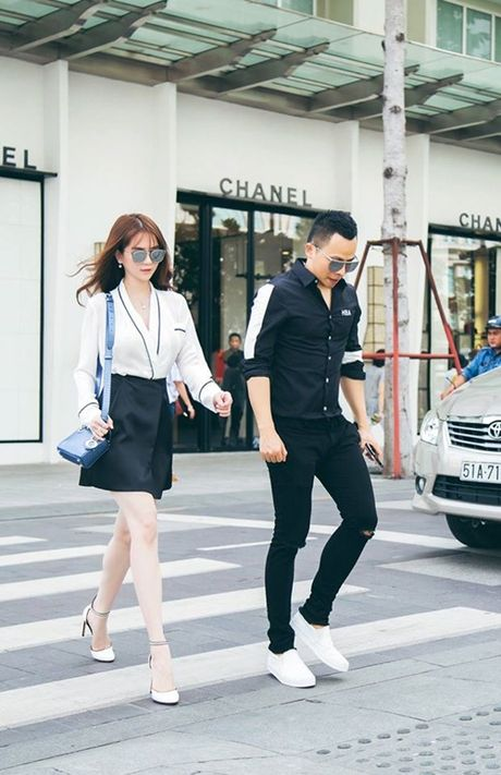 Ngoc Trinh hao huc tham du chung ket Hoa hau Han Quoc 2016 - Anh 5