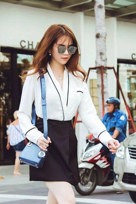 Ngoc Trinh hao huc tham du chung ket Hoa hau Han Quoc 2016 - Anh 6
