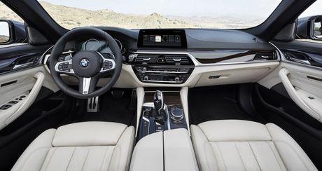 BMW 5-Series 2017 chinh thuc trinh lang - Anh 2