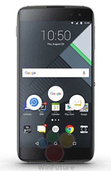 Smartphone cuoi cung cua Blackberry da cho dat truoc - Anh 1