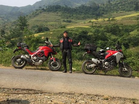 1.500km xuyen Viet trai nghiem Ducati Multistrada 1200 Enduro - Anh 12