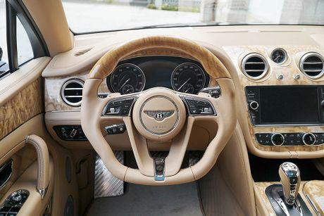 Ra mat sieu SUV do Mansory Bentley Bentayga - Anh 12
