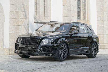 Ra mat sieu SUV do Mansory Bentley Bentayga - Anh 1