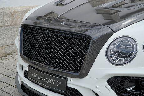 Ra mat sieu SUV do Mansory Bentley Bentayga - Anh 5