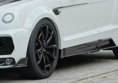 Ra mat sieu SUV do Mansory Bentley Bentayga - Anh 9
