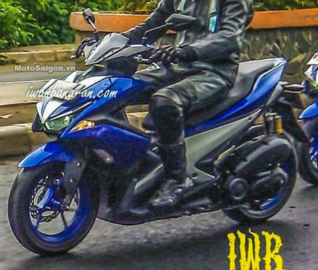He lo nhung hinh anh dau tien Yamaha NVX 2017 tren duong chay thu - Anh 2