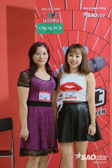 Tro cung My Tam - Van Anh tiet lo bi quyet chinh phuc giam khao trong ngay casting thu 2 Giong hat Viet - Anh 11