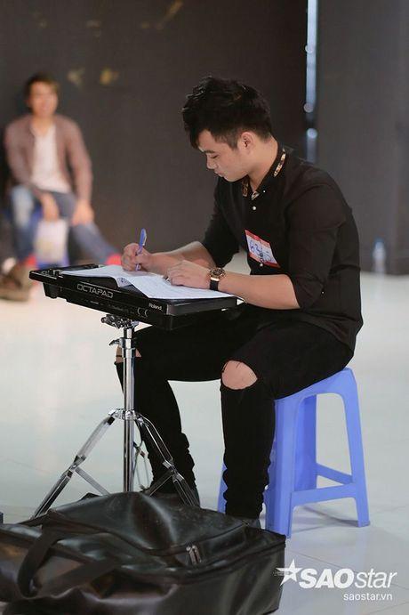 Tro cung My Tam - Van Anh tiet lo bi quyet chinh phuc giam khao trong ngay casting thu 2 Giong hat Viet - Anh 15