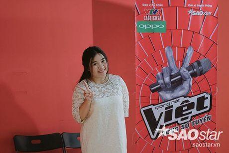 Tro cung My Tam - Van Anh tiet lo bi quyet chinh phuc giam khao trong ngay casting thu 2 Giong hat Viet - Anh 3