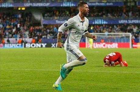 Soc: Chu tich Perez muon ban Sergio Ramos - Anh 2