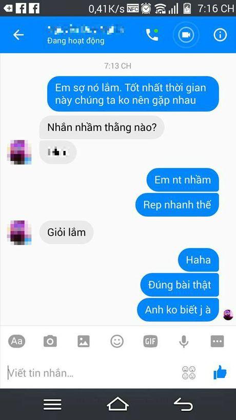 Nhan tin cho nguoi yeu theo mau 'Em so no biet lam!' di, tro nay dang hot nhat Facebook day! - Anh 1