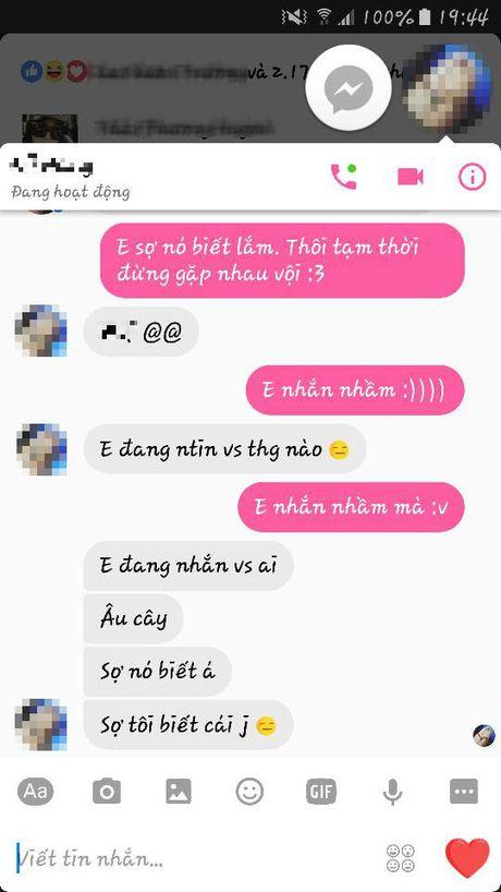 Nhan tin cho nguoi yeu theo mau 'Em so no biet lam!' di, tro nay dang hot nhat Facebook day! - Anh 4