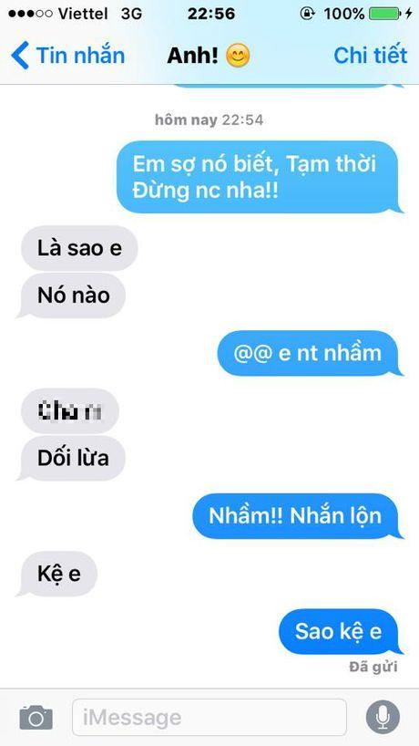 Nhan tin cho nguoi yeu theo mau 'Em so no biet lam!' di, tro nay dang hot nhat Facebook day! - Anh 9