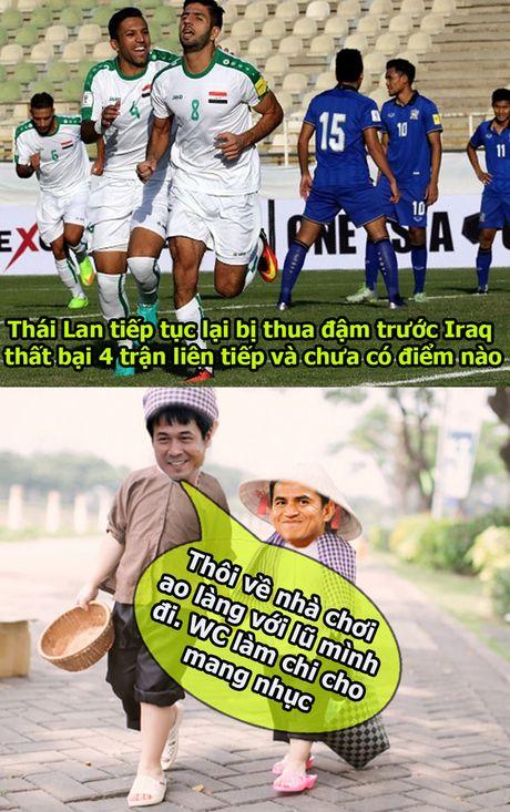 Anh che: Thai Lan thua tan nat, HLV Huu Thang ru Kiatisak ve da 'ao lang' - Anh 1