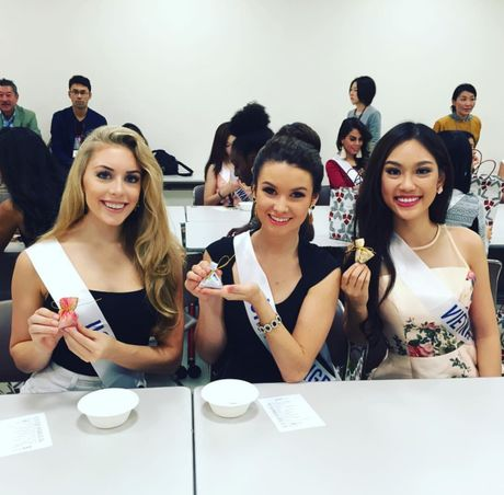 Dai dien Viet nhan giai thuong o Hoa hau Quoc te 2016 - Anh 2