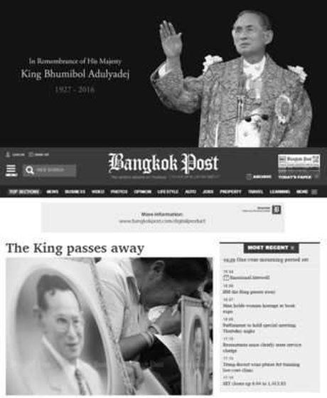 Quoc vuong bang ha, nguoi Thai khoc nhu mua - Anh 1
