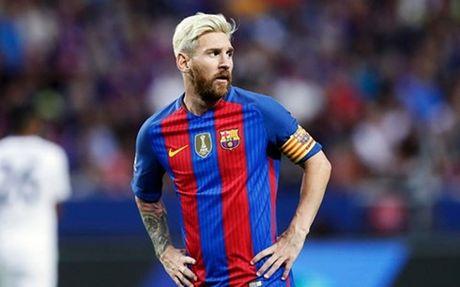 Tro lai tap luyen, Lionel Messi san sang tai xuat - Anh 1