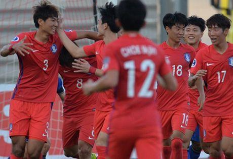 U19 Thai Lan guc nga o tran mo man VCK U19 chau A - Anh 1