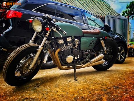 Honda CB750 do cafe racer 'sieu ngau' tai Sai Gon - Anh 1