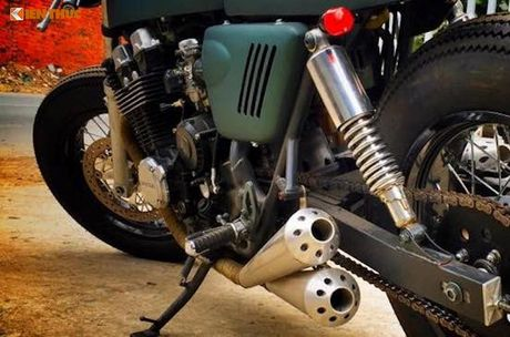 Honda CB750 do cafe racer 'sieu ngau' tai Sai Gon - Anh 3