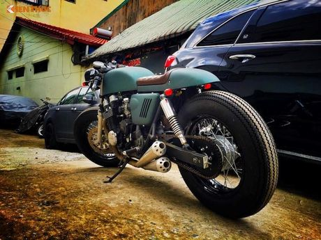 Honda CB750 do cafe racer 'sieu ngau' tai Sai Gon - Anh 6