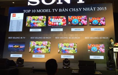 Sony gioi thieu TV BRAVIA 4K HDR - Anh 2