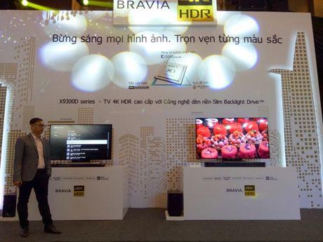 Sony gioi thieu TV BRAVIA 4K HDR - Anh 3