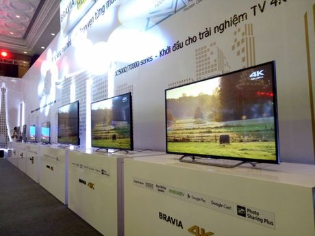 Sony gioi thieu TV BRAVIA 4K HDR - Anh 4