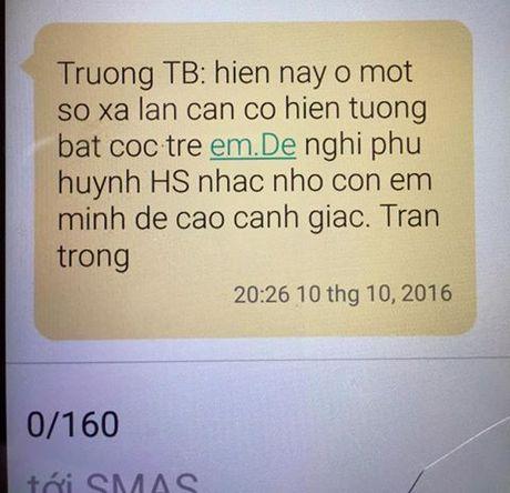 Cong an bac tin don tre em bi bat coc hang loat o Hung Yen - Anh 2