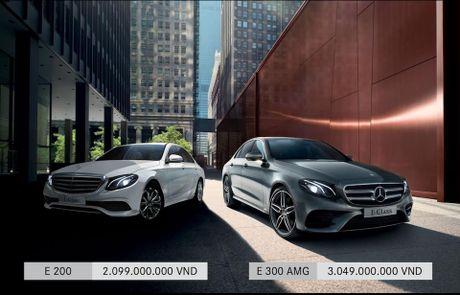 Mercedes-Benz E-Class ban ra tai Viet Nam voi 2 phien ban: E 200 va E 300 AMG; 2,099 ty va 3,049 ty - Anh 1