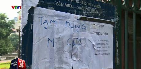 Xay dung trai phep tai di tich Van Mieu - Anh 1