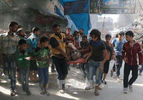 May bay Nga, Syria khong kich du doi Aleppo - Anh 1