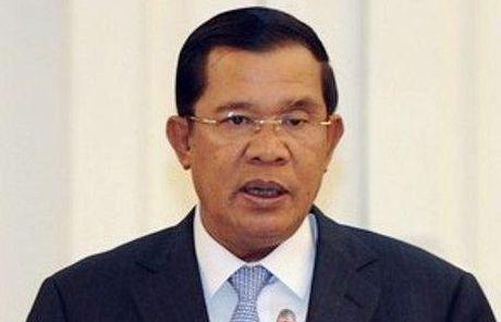 Ong Hun Sen tu choi de nghi xin an xa cho Sam Rainsy, Kem Sokha - Anh 1
