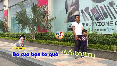 Huy Luan hoi ngo Bui Cong Danh cung con tham gia truyen hinh thuc te - Anh 6