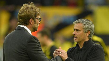 HLV Mourinho that the khi doi dau Klopp - Anh 1