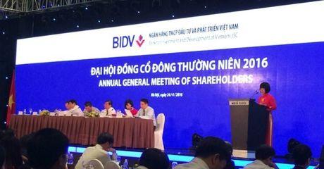 BIDV sap hop bat thuong, van chua ban ve co tuc - Anh 1
