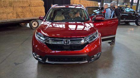 Honda CR-V 2017 chon My la thi truong dau tien ra mat - Anh 2