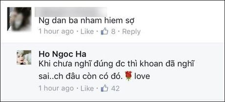 Ho Ngoc Ha: Khi 'nu hoang giai tri' khong ngan ngai dap tra antifan cuc sau cay - Anh 4