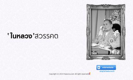Hang loat trang bao Thai Lan chuyen mau den de tang Vua Bhumibol Adulyadej - Anh 1